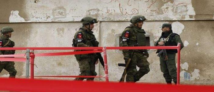 الشرطة العسكرية الروسية قد تشارك في إنشاء منطقة عازلة على الحدود بين سوريا وتركيا