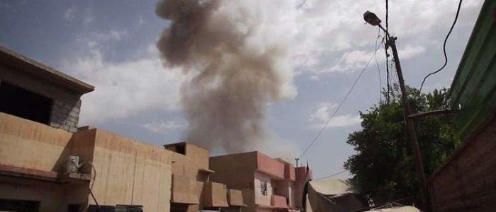 تفجير سيارة مفخخة في الموصل