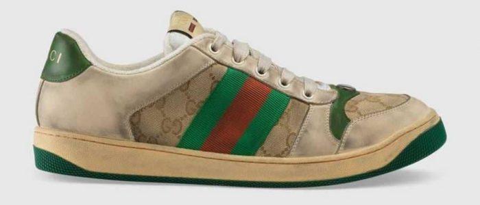 """جوتشي تطرح """"الحذاء القذر"""" بـ800 دولار"""