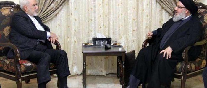 حسن نصر الله لظريف: نتنمى أن تواصل إيران دعمها للمقاومة