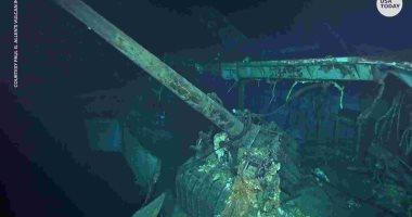 العثور على حطام حاملة طائرات أمريكية غرقت بالحرب العالمية الثانية