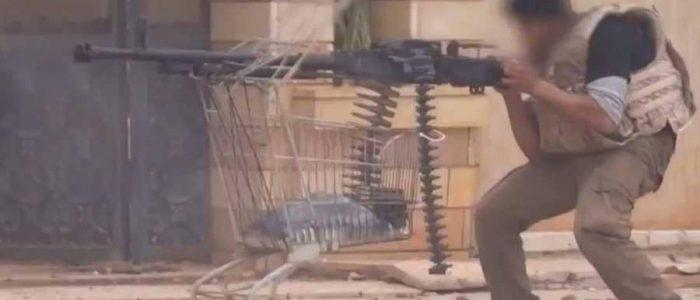 """ابتكار داعشي """"غبي"""" في ساحة المعركة"""