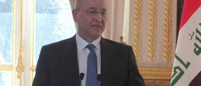 رئيس العراق: النصر على داعش لم يكتمل والإرهاب لا يزال قائما