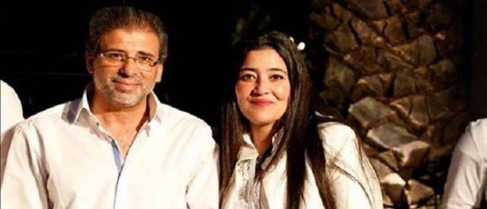 زوجة المخرج خالد يوسف تخرج عن صمتها.. فماذا قالت عن الفيديو الأباحي؟