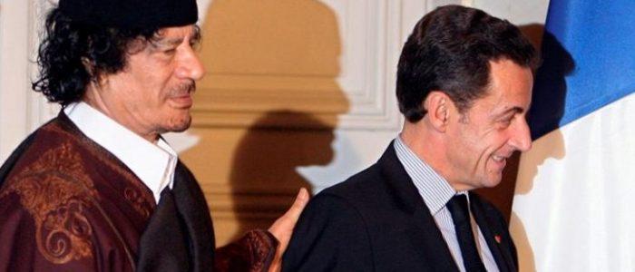 ساركوزي استلم 8 ملايين دولار من القذافي