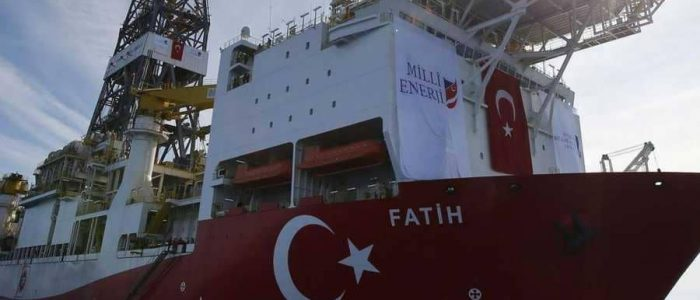 تنقيب في شرق المتوسط بحماية الجيش التركي