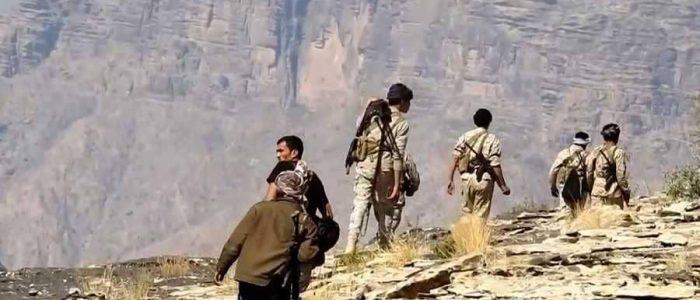 قبائل جحور تسقط طائرة مسيرة للحوثيين