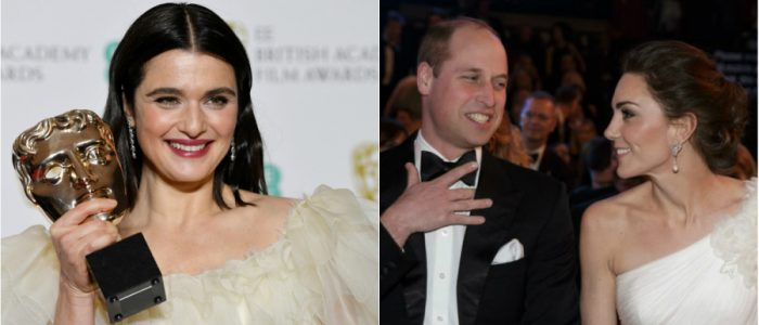 «أفضل ممثلة» تفقد أعصابها بسبب الأمير ويليام وكيت بحفل «بافتا»