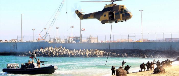 """الجيشان المصري والكويتي """"يقتحمان جزيرة وبؤرة مسلحة"""""""