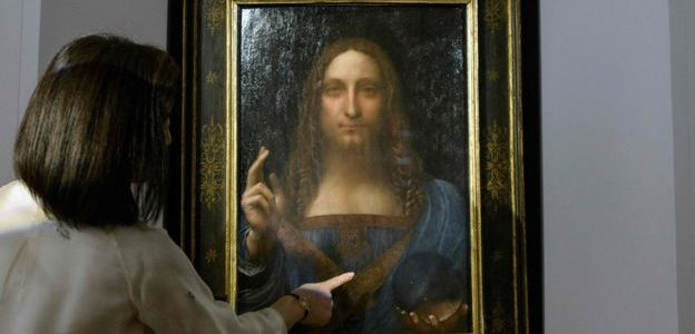 متحف اللوفر رفض عرض لوحة المسيح