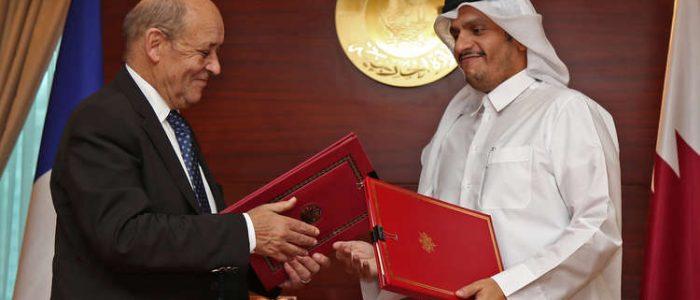 "قطر وفرنسا توقعان اتفاق ""حوار استراتيجي"" يشمل سوريا"
