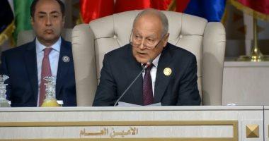 أبو الغيط: السلام العادل والشامل سيتحقق عند استقلال الشعب الفلسطينى