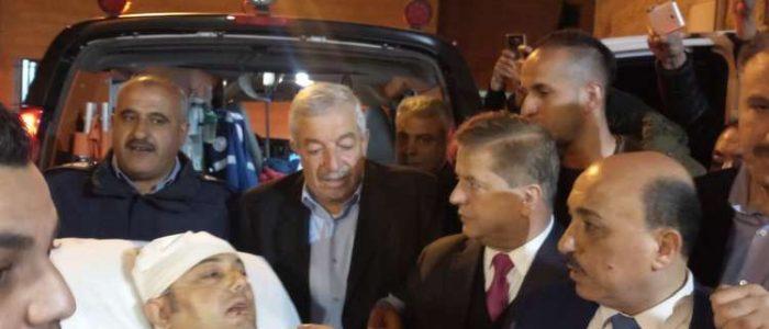 وصول الناطق باسم فتح في غزة إلي رام الله لتلقي العلاج