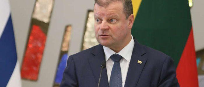 رئيس وزراء ليتوانيا يتعهد بنقل سفارة بلاده من تل أبيب للقدس إذا فاز بالرئاسة