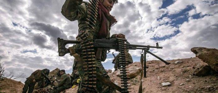 قوات سوريا الديمقراطية تلاحق فلول داعش