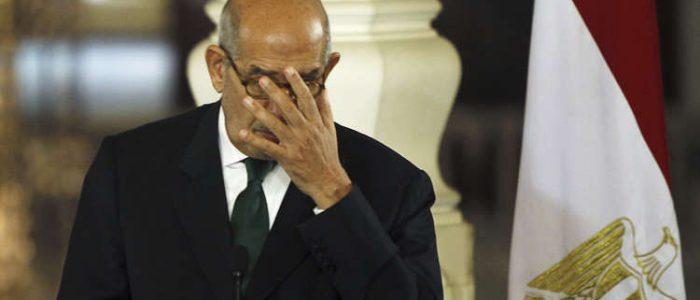 بلاغ يتهم البرداعى بالاستقواء بالخارج والتحريض على مصر