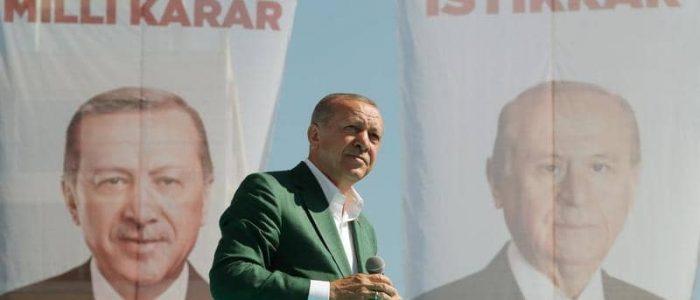 """أردوغان يستغل """"مذبحة المسجدين بنيوزيلندا"""" في حملته الإنتخابية"""