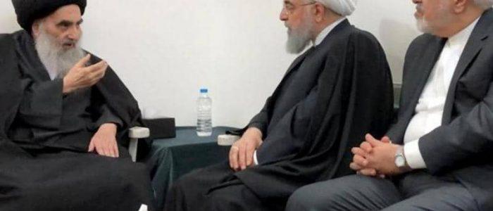 واشنطن بوست: لقاء السيستاني وروحاني في العراق رسائل إلى واشنطن وطهران