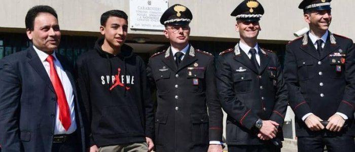 نجم يوفنتوس يشكر المصري منقذ الأطفال على طريقته الخاصة