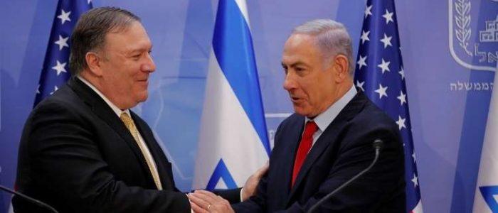 """نتنياهو وبومبيو يبحثان التعاون لدحر """"العدوان الإيراني في المنطقة والعالم"""""""