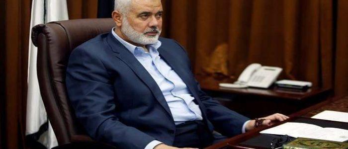 اسماعيل هنية: مستعدون للقاء الرئيس عباس لمواجهة صفقة القرن