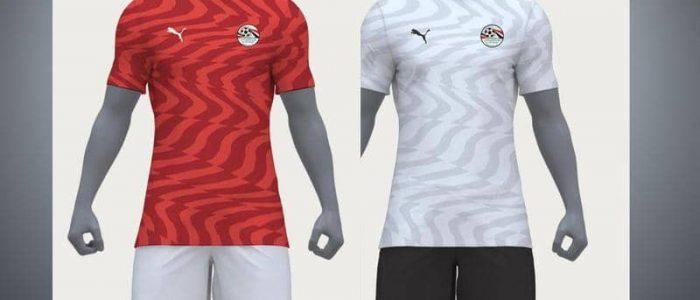 """قميص المنتخب المصري الجديد مصمم من شركة """"بوما"""" الألمانية"""