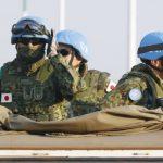 اليابان ترسل قوات الدفاع الذاتي لعمليات السلام  إلي مصر في أبريل