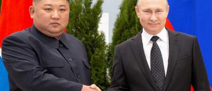 """رئيس كوريا الشمالية يهنئ بوتين بمناسبة """"يوم روسيا"""""""