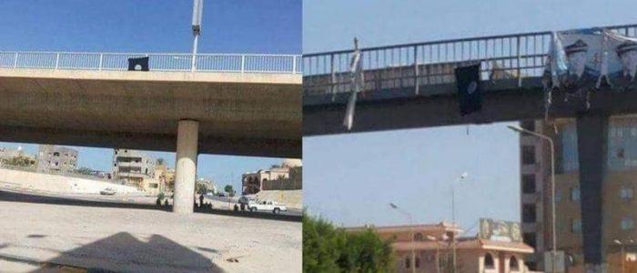 أعلام داعش ترفرف في طرابلس