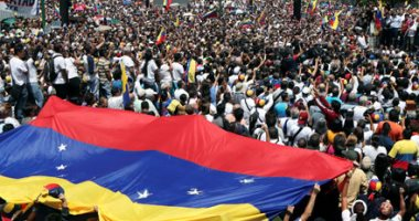 """ترامب يؤكد """"الوقوف مع شعب فنزويلا"""""""