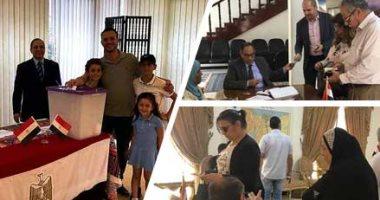 سفير مصر بتونس: تزايد أعداد المصريين المشاركين فى الاستفتاء