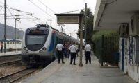 إضراب السكك الحديدية في تونس