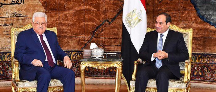 السيسي يؤكد لعباس دعم مصر لإقامة دولة فلسطينية عاصمتها القدس الشرقية