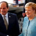 أنجيلا ميركل للرئيس السيسي: حريصون على تطوير العلاقات مع القاهرة فى مختلف المجالات