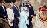 الأمير هاري تجنب شقيقه خلال قداس عيد الفصح