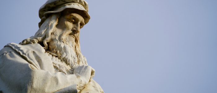 تعرف علي الوجه الآخر ليوناردو دافنشي