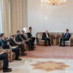 بشار الأسد يستقبل وزير الخارجية الإيرانى