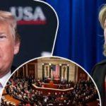 هيلاري كلينتون تحذر من سعى الكونجرس لعزل ترامب
