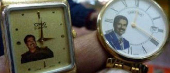 اعتقال عراقي يبيع ساعات تحمل صورا لصدام حسين