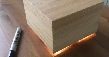 """زوكربيرج يبتكر """"صندوق خشبى متوهج"""" لمساعدة زوجته على النوم بشكل أفضل"""