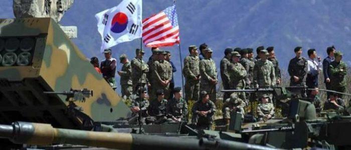 كوريا الشمالية تهدد بالرد على انطلاق تدريبات عسكرية بين سول وواشنطن