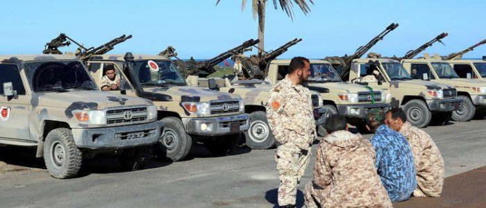 إحباط محاولة تسلل مجموعتين مسلحتين من ليبيا إلي تونس تحت غطاء دبلوماسي