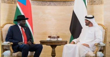 """الشيخ محمد بن زايد لـ """"ميارديت"""": ندعم السلام والتنمية فى جنوب السودان"""