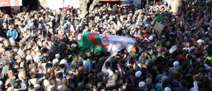 مظاهرات للجزائريين في شوارع باريس