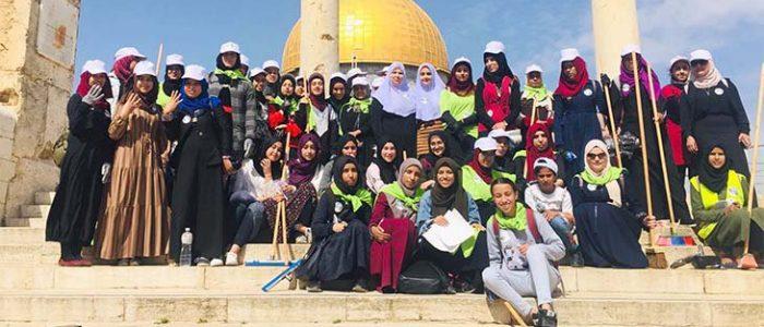 آلاف المتطوعات الفلسطينيات من الداخل يشاركن في مهرجان العمل العاشر «القدس أولا»