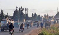 قصف قرب موقع عسكري تركي بإدلب