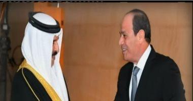 الرئيس السيسى يستقبل اليوم حمد بن عيسى آل خليفة ملك البحرين