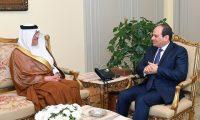 السيسي يعرب عن تضامن مصر مع السعودية للحفاظ علي أمن الخليج