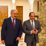حفتر يغادر القاهرة