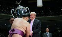 أبرز صور لترامب خلال زيارته لليابان